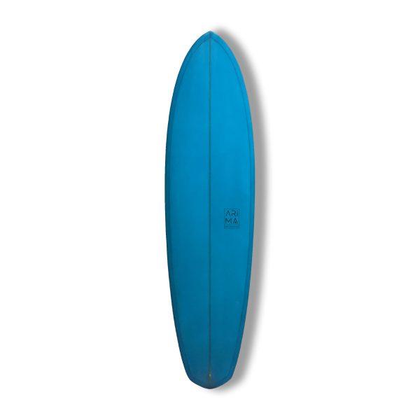 Salty-beer surfboard